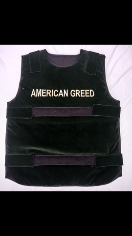 "Dark Green ""American Greed Vest"""