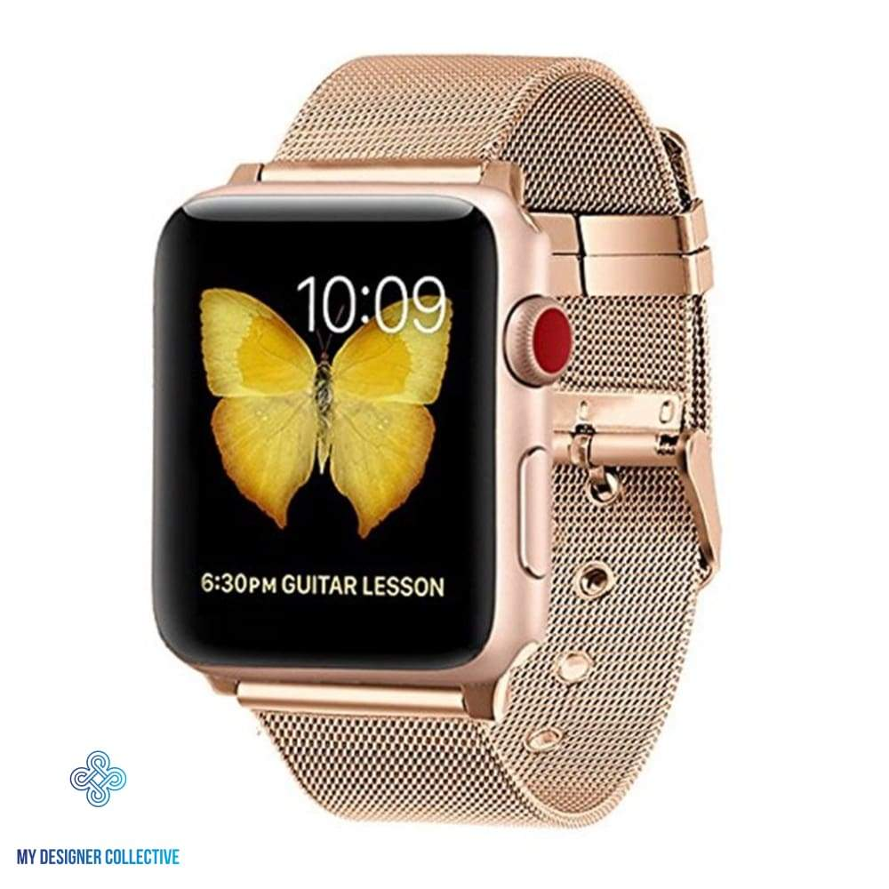 Apple Watch Band Collection Milanese Buckle Loop Watch Band My Designer Collective