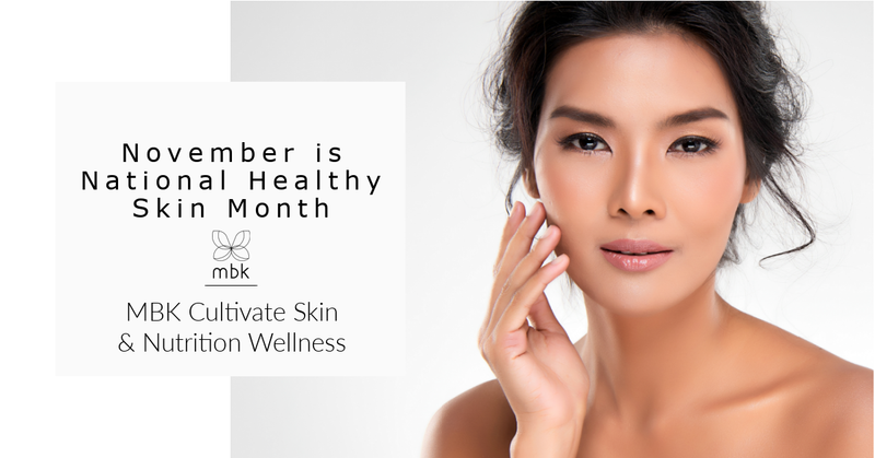 November is National Healthy Skin Month