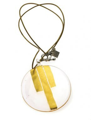 Deco Circle Gold Necklace