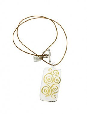 Gold Classic Klimt Necklace