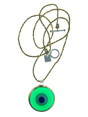 Emerald Transparent Evil Eye