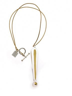 Gold Exclamation Mark Necklace