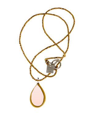 Gold Mini Pear Necklace