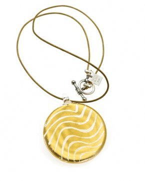 Wave Gold Necklace