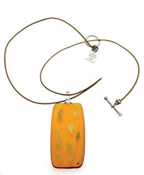 Long Safari Gold Necklace