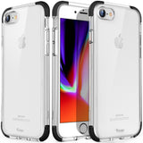 Mkeke Compatible with iPhone Xs Case,iPhone X Case,Clear Anti-Scratch Shock Absorption Cover Case for iPhone Xs/X (Crystal Clear)