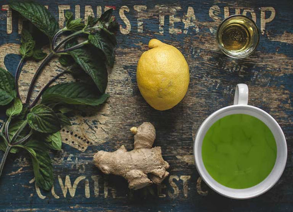 A matcha made in heaven – matcha and citrus juices