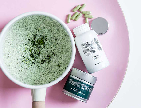 Matcha capsules - how to get the benefits of matcha without the taste