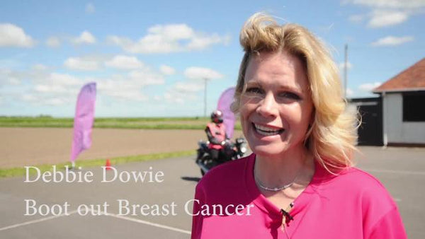 A letter from Debbie Dowie from Boot Out Breast Cancer