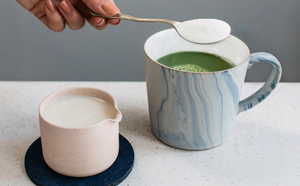 Matcha & Collagen Latte - A Matcha Made in Heaven