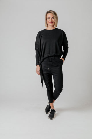 Moss Cora Sweater - Black