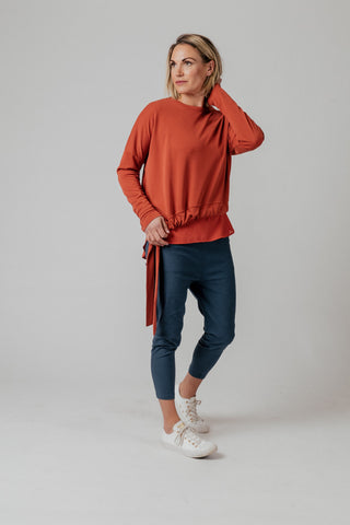 Moss Cora Sweater - Brick