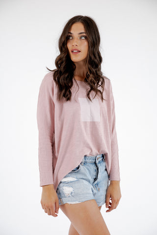 Finley Top - Blush