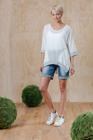 Moss Addison Top - Off White