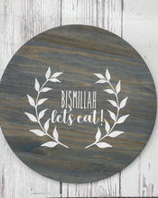 "Load image into Gallery viewer, ""Bismillah Let's Eat"" Lazy Susan"