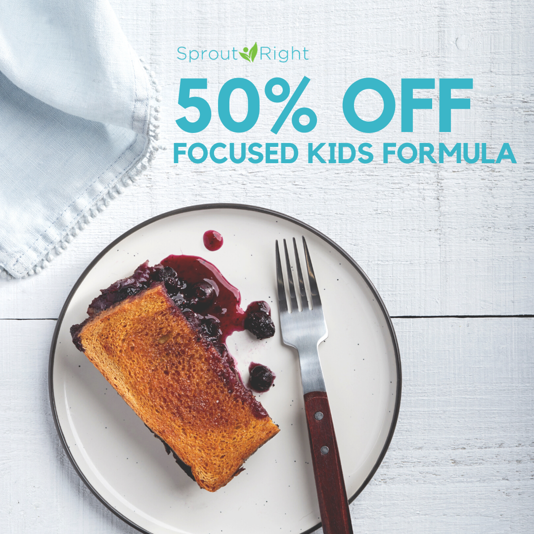Focused Kids Formula Scholarship - 50% Off Tuition