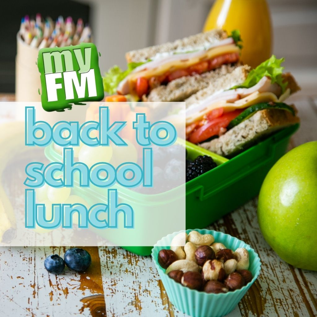 myFM: Back to school lunch
