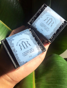[PRE-ORDERS SHIPPING 10 JULY.] Royal Charcoal Soap 80g - Retro Rich Company
