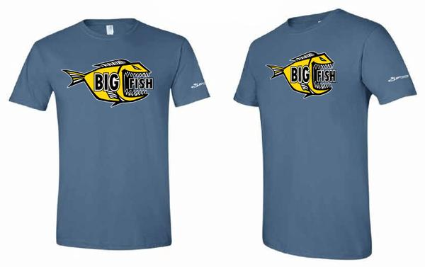3 Waters Kayaks Big Fish Logo Tee