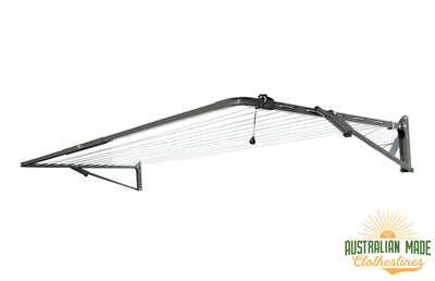Austral Compact 28 Clothesline - Woodland Grey - Australian Made Clotheslines