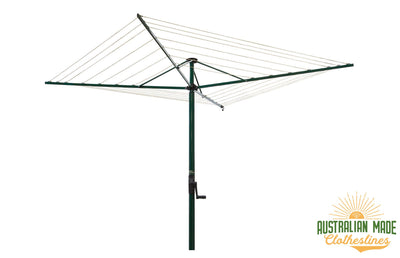Austral Foldaway 45 Rotary Clothesline - Folding Rotary - Australian Made Clotheslines