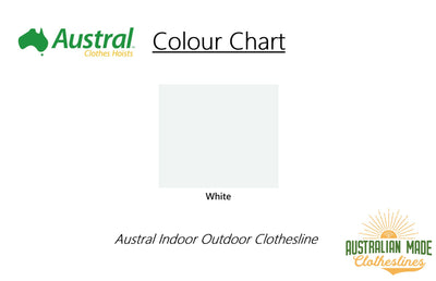 Austral Indoor Outdoor Clothesline - Colour Sheme - Australian Made Clotheslines