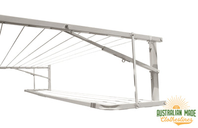 Eco Lowline Attachment - Surfmist - Australian Made Clotheslines