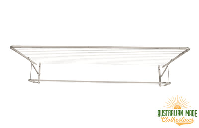 Eco Lowline Attachment - Surfmist Front View - Australian Made Clotheslines