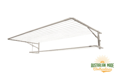 Eco Lowline Attachment - Surfmist Right Side Perspective - Australian Made Clotheslines