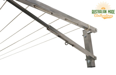 Eco 240 Stainless Steel Clothesline - Stainless Steel Close Up String - Australian Made Clotheslines