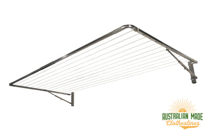 Eco 240 Stainless Steel Clothesline - Stainless Steel - Australian Made Clotheslines