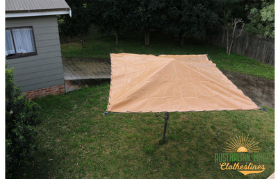 PVC Rotary Clothesline Cover - Clothesline Cover - Lifestyle Clotheslines - Australian Made Clotheslines