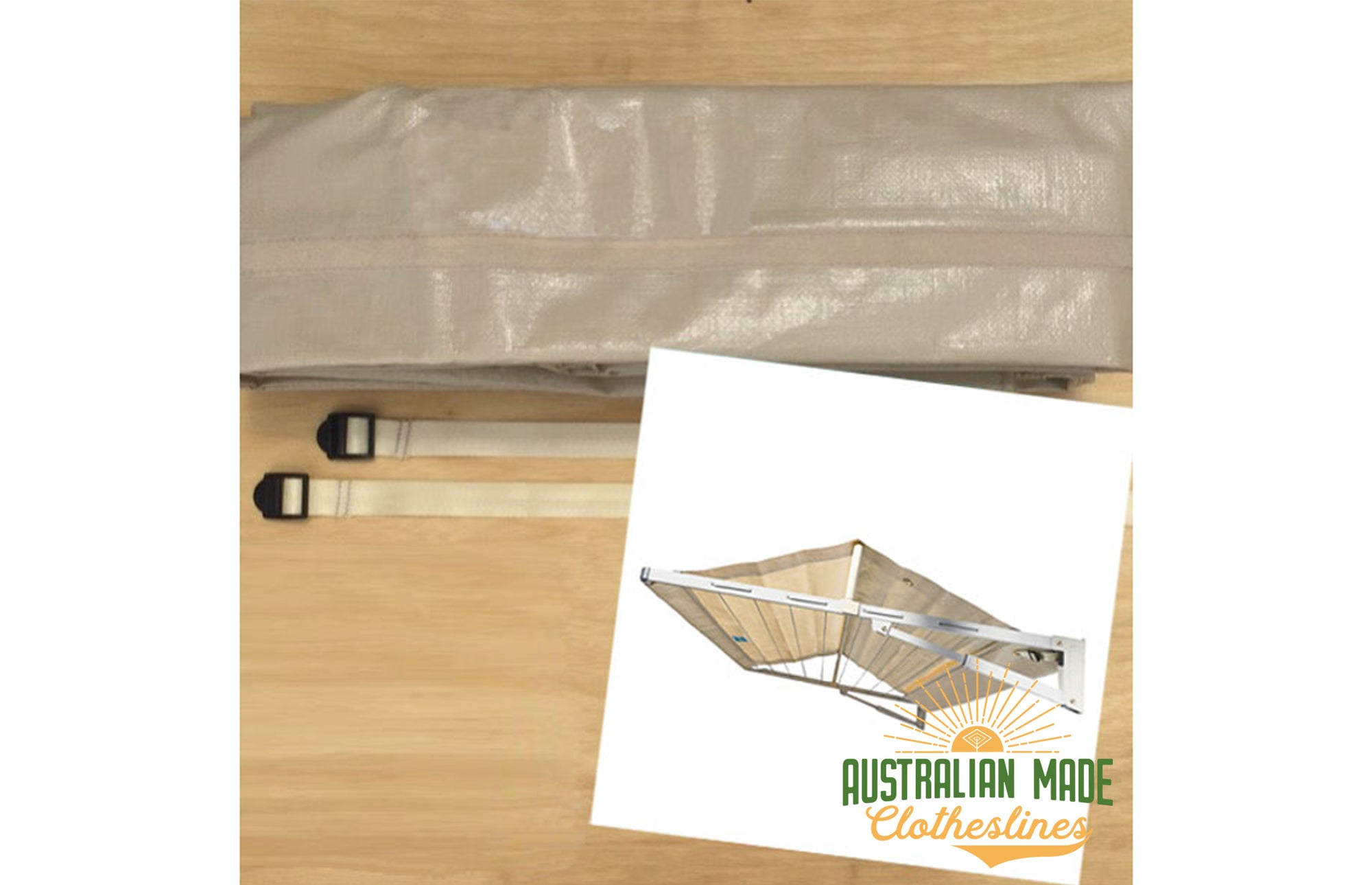 Replacement Folding Frame Clothesline Cover - Australian Made Clotheslines