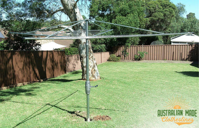 Austral Super 4 Clothes Hoist - Ground Mounted - Australian Made Clotheslines