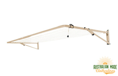 Austral Compact 28 Clothesline - Classic Cream - Australian Made Clotheslines