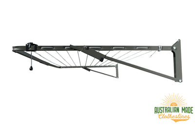 Austral Compact 28 Clothesline - Right Perspective View - Australian Made Clotheslines