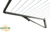 Austral Compact 28 Clothesline - Close Up Strings - Australian Made Clotheslines