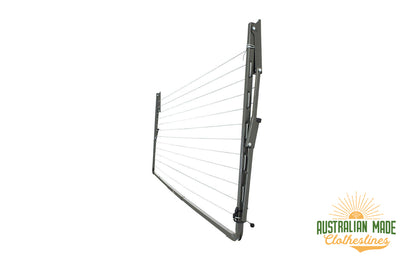 Austral Compact 28 Clothesline - Folded Down - Australian Made Clotheslines
