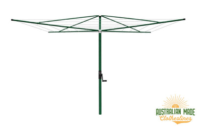 Austral Elite 4 Clothes Hoist - Heritage Green - Australian Made Clotheslines