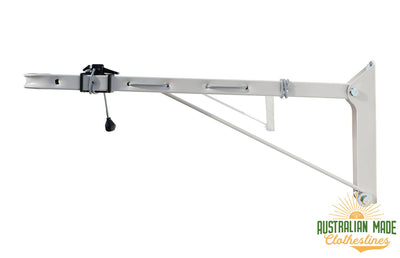 Austral Indoor Outdoor Clothesline - Right Side View - Australian Made Clotheslines