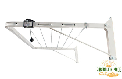 Austral Indoor Outdoor Clothesline - Right Perspective - Australian Made Clotheslines