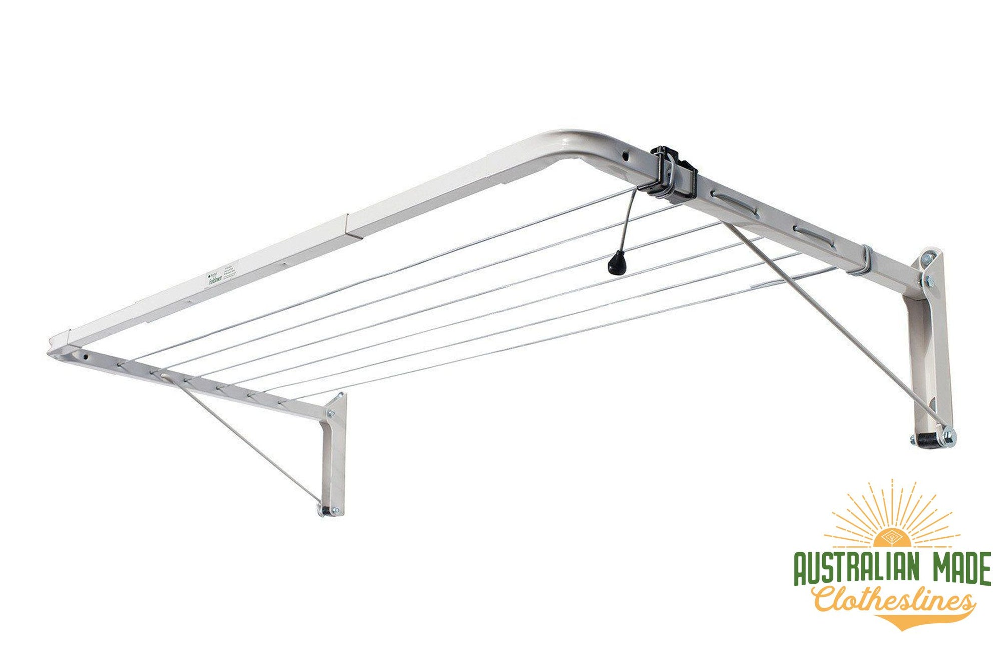 Austral Indoor Outdoor Clothesline - Colour White - Australian Made Clotheslines