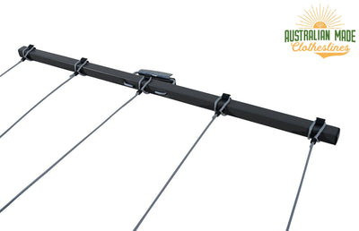 Austral Retractaway 40 Clothesline - Line Pulled Out - Australian Made Clotheslines