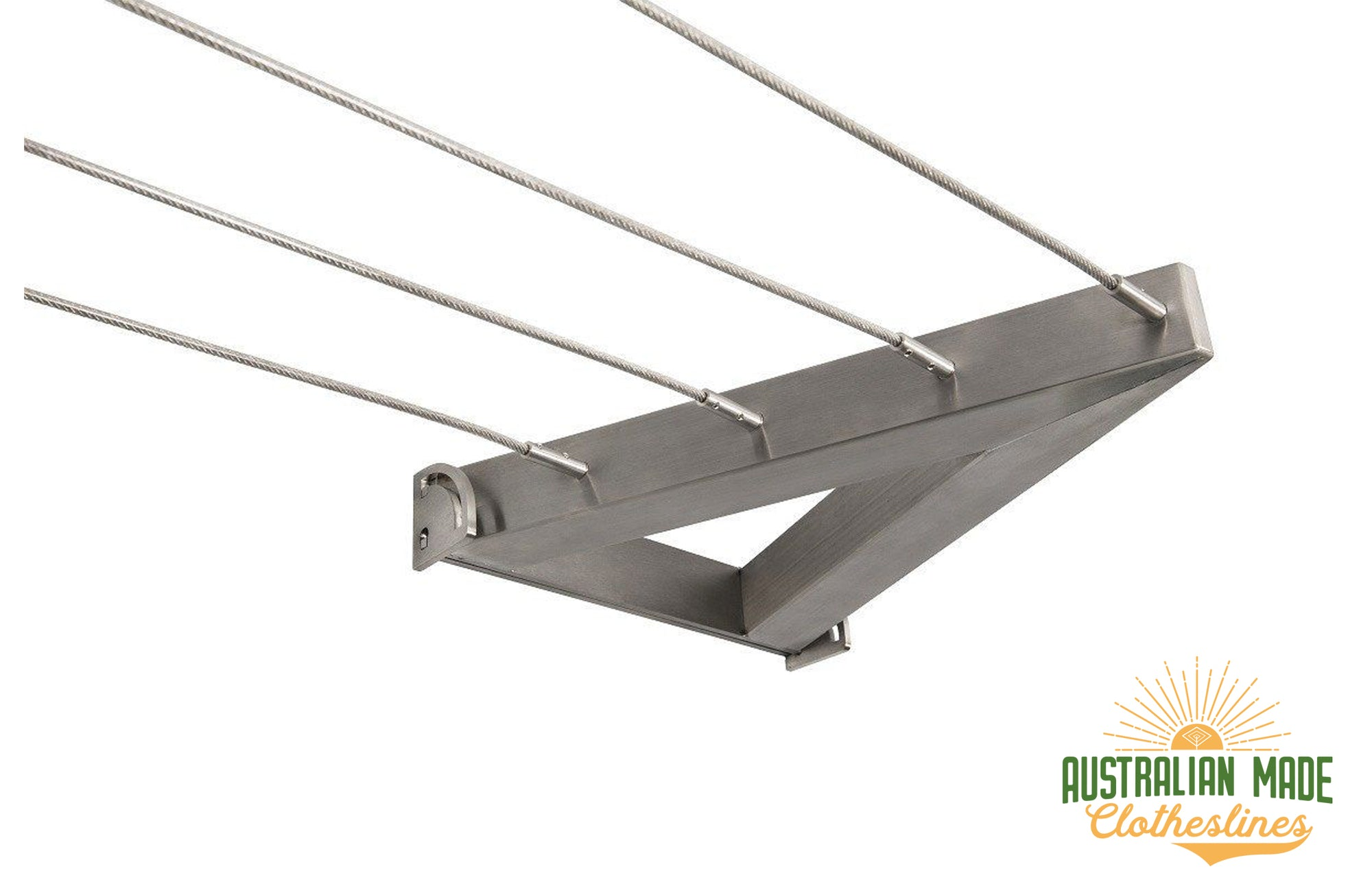 Evolution 316 Stainless Steel Clothesline - 4 Line Stainless Steel - Australian Made Clotheslines