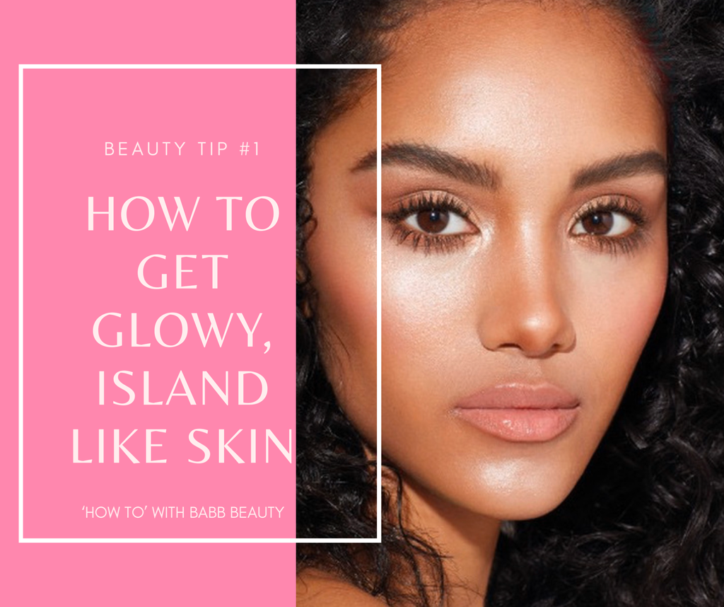 4 EASY STEPS TO GET GLOWY MAKEUP
