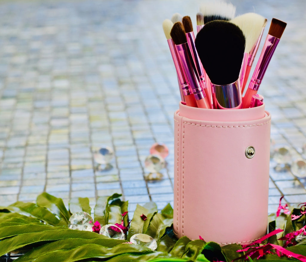 BLUSH PINK MAKEUP BRUSH SET