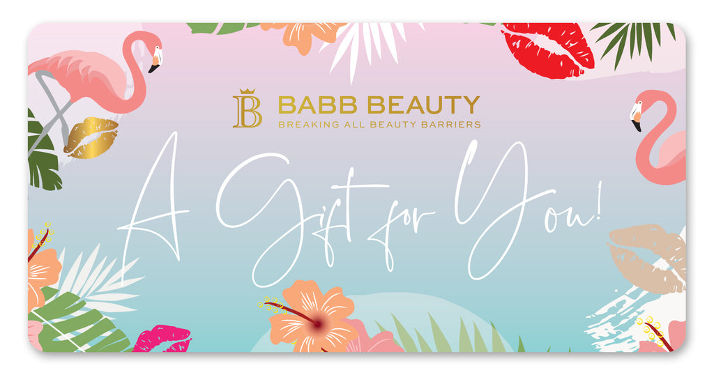 BABB BEAUTY DIGITAL GIFT CARD