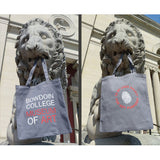 Gray Canvas Bowdoin College Museum of Art 2016 Tote Bag