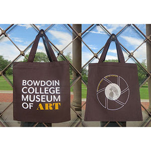 Brown Canvas Bowdoin College Museum of Art 2018 Tote Bag